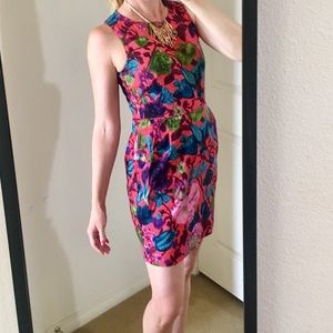 J Crew Factory Hot House Floral dress Size 4